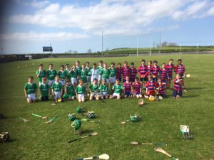 Ballygalget and BrídÓg U12s 14th May 2016