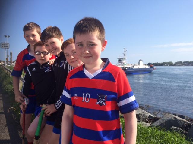 Bríd Óg U12s enjoying the sun in Portaferry