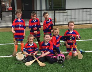 Some of our P3 and P4 Hurlers at Cliftonville 21 May 2016