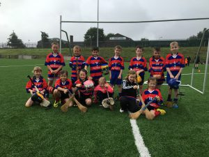 Bríd Óg U8 and U10 at the Moneyglass Festival of Sport