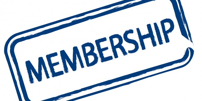 Club Membership Now Due