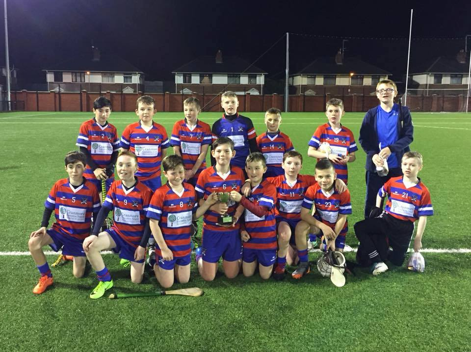 Under 12 Hurlers Claim Draco Cup!