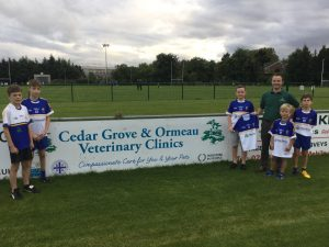 Cedar Grove Veterinary Clinic Are Supporting St Brigid's GAC