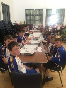 U14 Feile Champs Host Guest Tea At St Bride's Hall