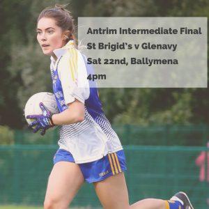 St Brigid's Senior Ladies In County Final THIS SATURDAY!