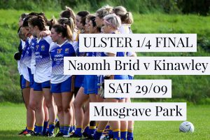 Senior Ladies In Ulster Championship Quarter-Final At Musgrave!!