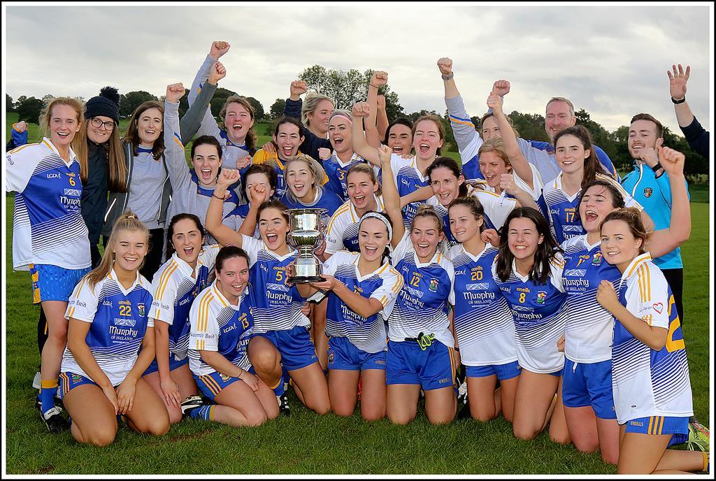 Senior Ladies Win Intermediate Championship!