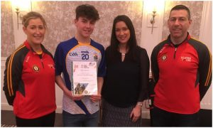 Joseph McCarney Recognised At Ulster Young Leaders Awards