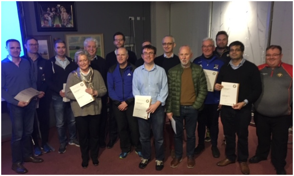 Coaches Take Safeguarding Course At HQ: Next One On 25th Feb