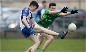 Minor Men Just Hold On Against Dunloy