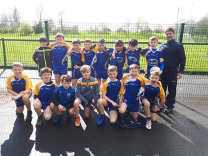 St Bride's P.S. In Raffo Cup Final On Tuesday 9th April