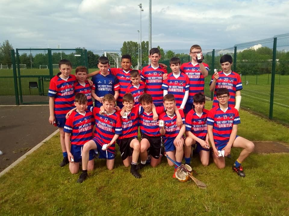 Brid Óg U14s Lift Ulster Shield!