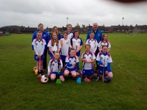 Young Camogs Make History With First Tournament Appearance!