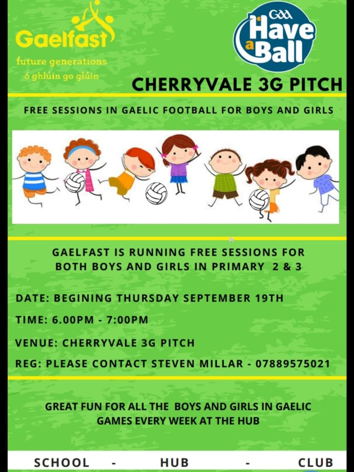 Gaelfast Returns This Week For Primary 2 & 3 Children