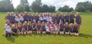 U12 Girls Take On Carryduff