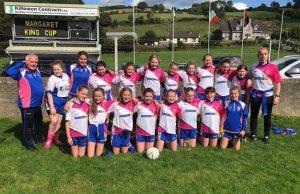 U12 Girls Reach Semi-Final Of Burren Tournament