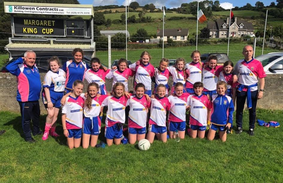 U12 Girls Reach Semi-Final Of Burren Tournament