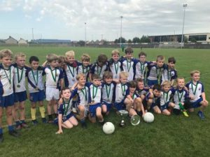 U8 Boys Excel In Bryansford!